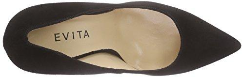Tacco Shoes Nero Evita 10 Donna Scarpe Schwarz Punta Chiusa Pump Schwarz Col ZpnSqC