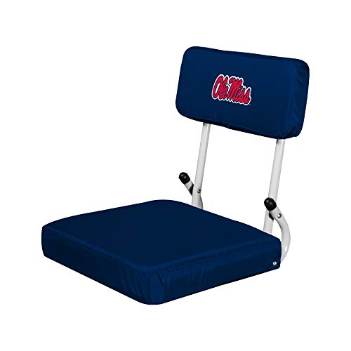 Mlb Logo Seat Cushion - NCAA Mississippi Old Miss Rebels Hardback Stadium Seat