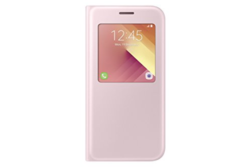 S-View Flip Cover for Samsung Galaxy A5 (Pink) - 1