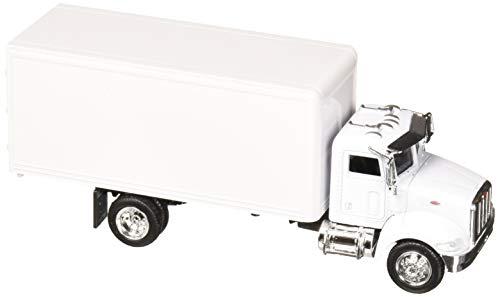 - NewRay 15803D 1: 43 Utility Peterbilt 335 Box Truck White