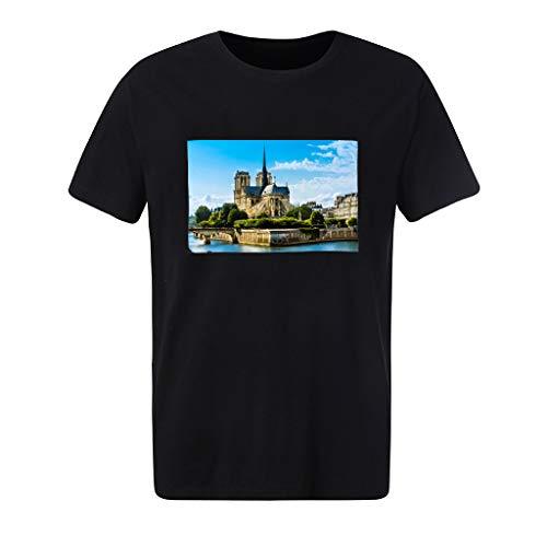(Fashion Summer Men's Printing Tees T-Shirt Short Sleeve Tops)