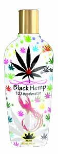 Most Products BLACK HEMP 12X Accelerator Tanning Lotion - 8.5 -