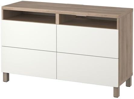 Ikea 10202.261411.22 - Mueble de TV con cajones (Efecto Nogal ...
