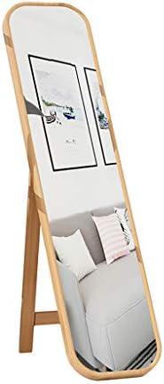 BLXFN ベッドルームのフルサイズのミラーは壁に取り付けることができ、家庭用のシンプルなフロアモデル