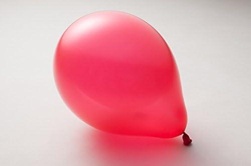ゴム風船 100個 選べる 全24色 スタンダード パーティ ヘリウム イベント 9インチ(20cm),1.レッド