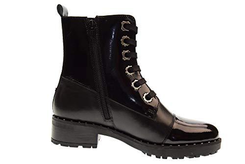 Black Vitello vrn Amphibie Apepazza Bst01 Femme Chaussures Beverly R4W1x0