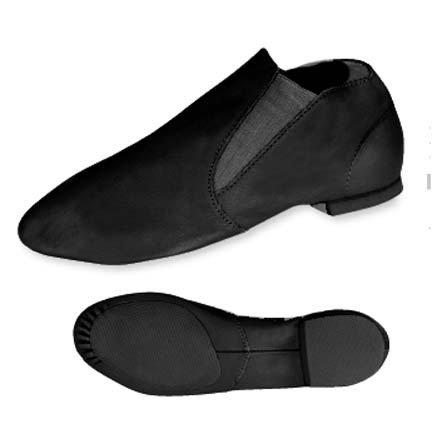 Adults Black Gore Jazz Boot Jazz Shoes Black Qa3L8I