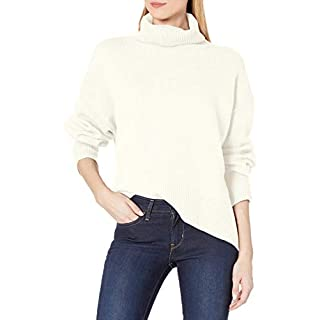 French Connection Women's Nina Knits Sweaters, Winter White, L