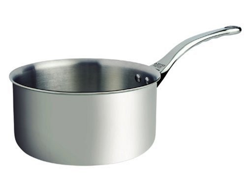 DeBuyer Affinity 1.2-Quart Saucepan, Stainless Steel by De Buyer