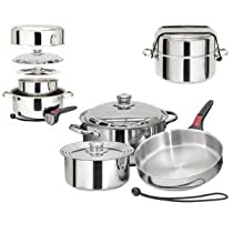 Magma Nestable 7 Piece S.s Starter Cookware Set