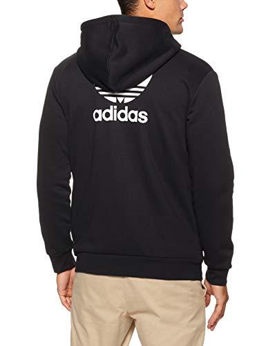 Adidas Trefoil À Homme Sweat shirt Nero Capuche rrRa0Z