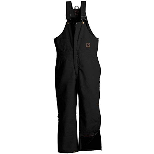 Berne Mens Big-Tall Deluxe Insulated Bib, Black, ()