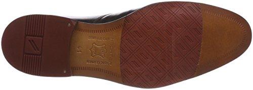 Marrón Cordones Zapatos Brown Dark Daniel para Hombre Derby Dark 6131 de Hechter Red 811219101010 qIIER8w