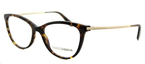 Dolce&Gabbana DG3258 Eyeglass Frames 502-54 - Havana DG3258-502-54 ()