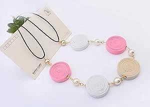 Fashion Pendant Necklace - Multicolor