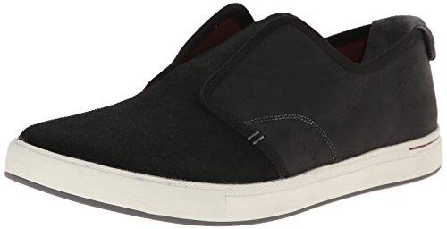 Ahnu Mens North Beach Leather Slip-On Loafer Black