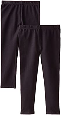 The Children's Place Girls' Solid Legging (Pack of 2)