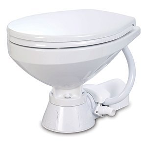Jabsco 37010-4092 Electric Marine Toilet Regular Bowl 12 Volt Boating Head