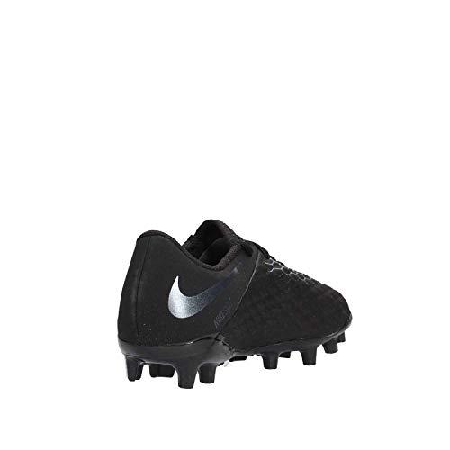 Futsal De 3 Academy 001 Jr black Hypervenom Fg Noir Mixte Chaussures Nike Enfant wqa10Cn