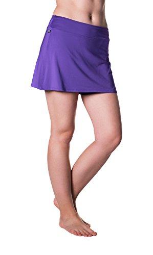 Skirt Sports Women's Gym Girl Ultra Skirt, Amethyst, Medium