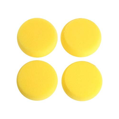Amrka Round Sponge Brushes For Painting Art Drawing Craft Clay Pottery Sculpture Cleaning Tool (5Pcs) by Amrka (Image #4)