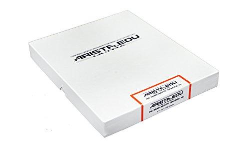 Arista EDU Ultra RC Black & White Photographic Paper, Semi-Matte #2, 8x10, 100 Sheets