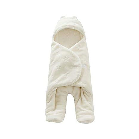 Amazon.com : HBK Baby Sleeping Bag 6880cm Coral Fleece Baby Swaddle Blanket Winter Footmuff Saco Bebe Cochecito Dormir Sac De Couchage Enfant : Sports & ...