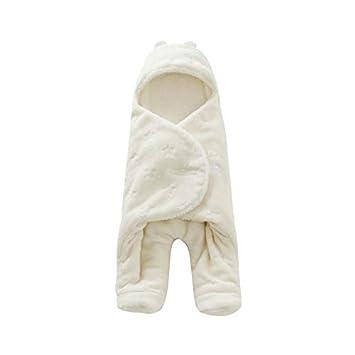 Amazon.com : HBK Baby Sleeping Bag 6880cm Coral Fleece Baby ...