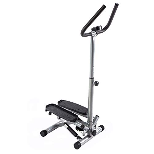 Sunny Health & Fitness Twist Stepper Step Machine w/Handle Bar and LCD Monitor - NO. 059 by Sunny Health & Fitness (Image #2)