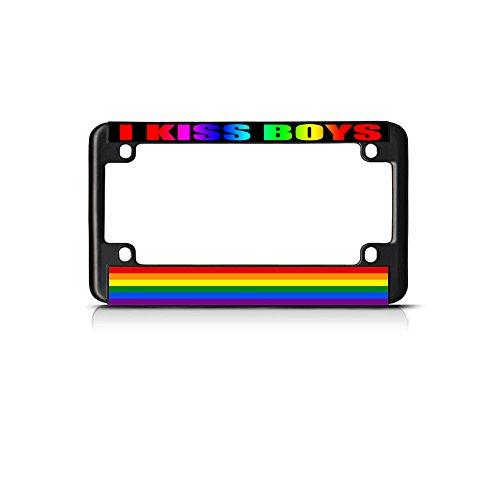 kiss license plate frame - 7