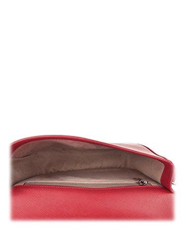 Sac 23 cuir Lancaster Adele bandoulière Rouge Minibag cm qZx7ESX7