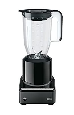 Braun JB7200 PureMix Power Countertop Blender with Plastic Jug, 56 fl. oz, Black