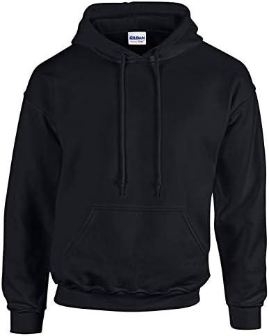 Gildan Hoodie Heavy Blend Blank Plain Hooded Sweat Sweatshirt Sweater Men XS-5XL