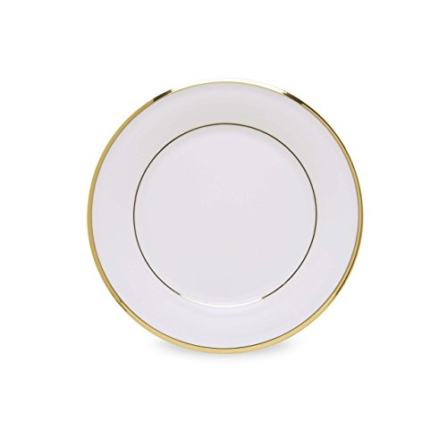(Lenox Eternal White Gold Banded Bone China Butter)