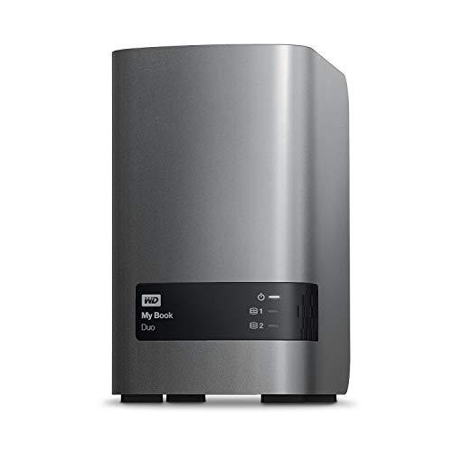 - WD 16TB My Book Duo Desktop RAID USB 3.0 Enclosure ONLY SATA Hard Drive Case