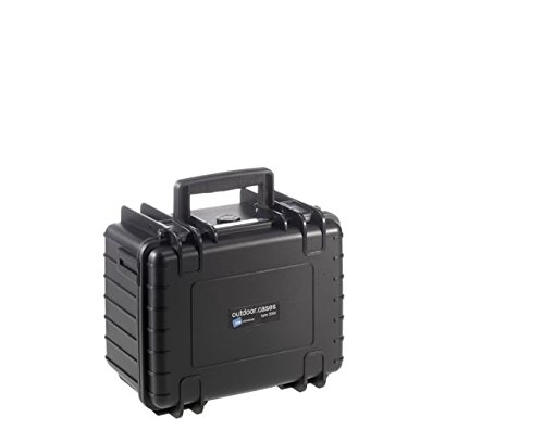 Type 2000 Outdoor Case with SI Foam, Black
