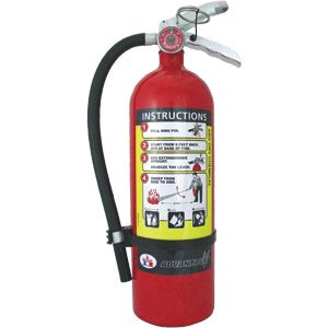 5.5 lb ABC Badger Advantage Extinguisher w/ Wall Hook by Badger