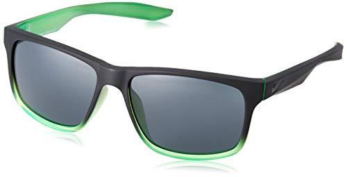 Nike EV0999-030 Chaser Frame Dark Grey Lens Sunglasses, Matte Black/Rage Green Fade (Grey Lens Frame Fade)