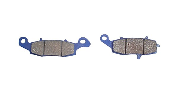 Half Faired//No ABS Brake Disc Pads Front L//H Kyoto for 2006 Suzuki SV 650 S-K6