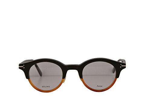 Celine CL41421 Eyeglasses 45-25-145 Green Havana w/Demo Clear Lens T75 CL - Aviators Square Celine