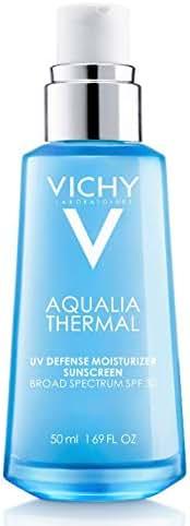 Vichy Aqualia Thermal UV Defense Face Moisturizer with SPF 30, Daily Sunscreen Moisturizer, 1.69 Fl Oz