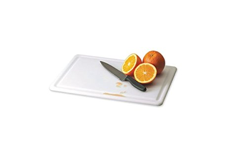 San Jamar CB152012GVWH Kolor-Cut Grooved Cutting Board, 20