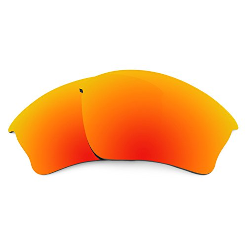 Revant Polarized Replacement Lenses for Oakley Half Jacket XLJ Fire Red MirrorShield Asian Fit