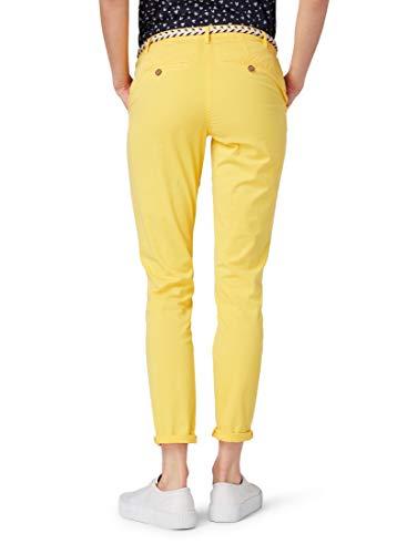 Milky Pantalón Tom Mujer Yellow Para Tailor Sunflower Bpqqwg
