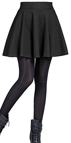 Emma & Giovanni – Womens Basic Flared Skirt
