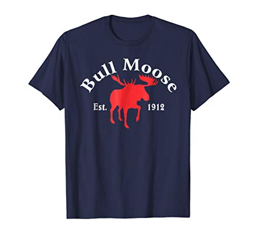 Theodore Roosevelt Bull Moose Party T-shirt -
