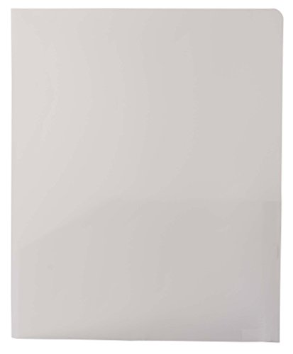 Filexec Products Green Oath, Biodegradable 2 Pocket Port/Folder, Durable Poly Material, Pack of 5 (50356-31373)