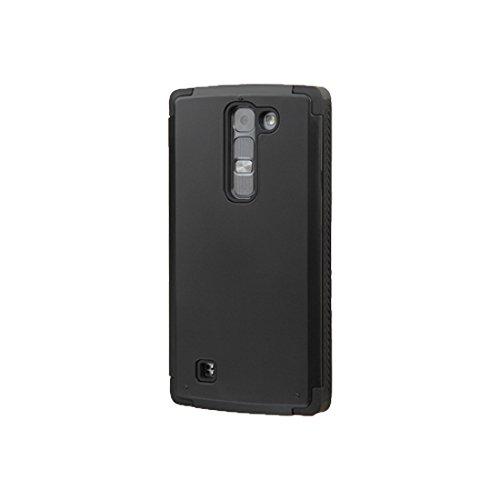 Asmyna Phone Case for LG LS751 (Volt 2) - Retail Packaging - Black Inverse (2 Magna Playstation)