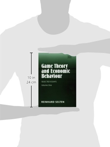 game theory and economic behaviour selected essays two volumes  game theory and economic behaviour selected essays two volumes reinhard selten 9781858988726 com books