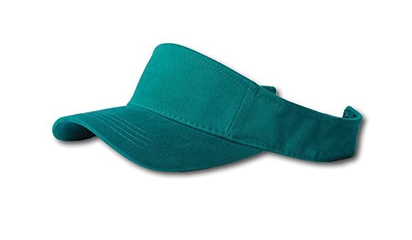 Plain Single Sports Visor Kelly Green